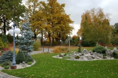 Grupa Kapias ogrody jesienią