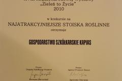Grupa Kapias Brazowy Wawrzyn 2010