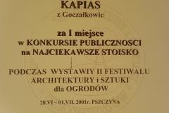 Grupa Kapias Dyplom Pszczyna 2001
