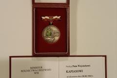 Grupa Kapias legitymacja Ministra Rolnictwa 2014