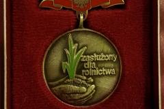 Grupa Kapias Medal Zasłużony Dla Rolnictwa 2014