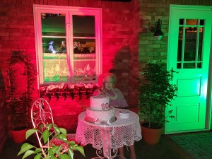 Grupa Kapias - ogród angielski nocą [Ogrody Daisy 2016]